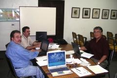 L'Équipe d`experts en session à Mayaguez, Puerto Rico.