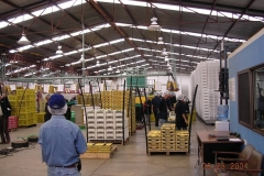 Task Force visit to a packing house in Mexico.