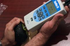 Measuring firmness in Hass avocado.
